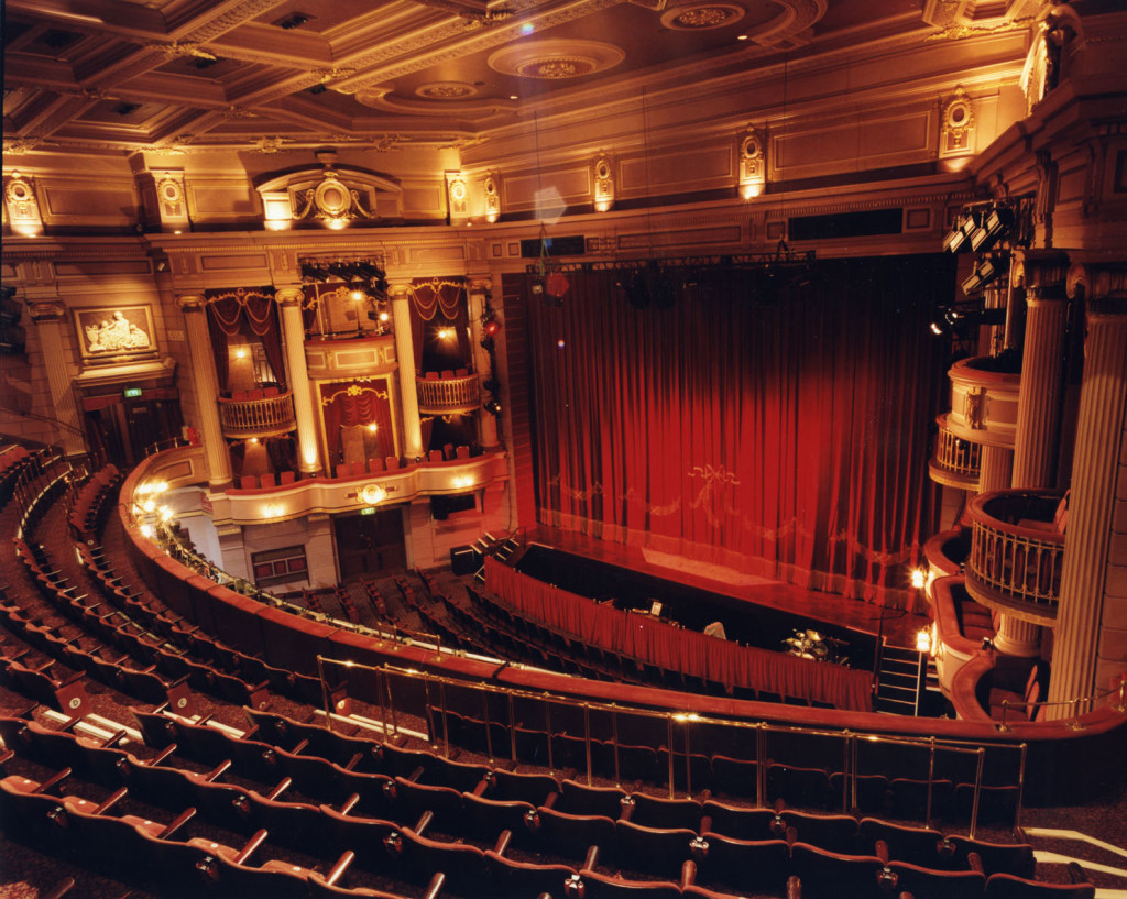 A view of Birmingham Hippodrome interior 1998