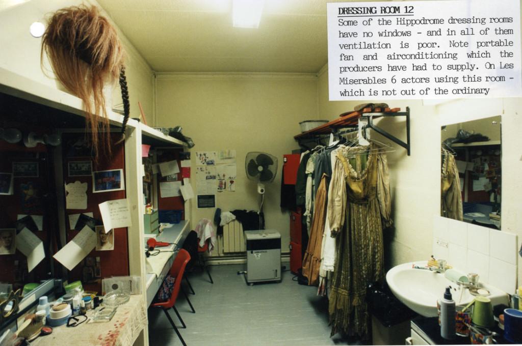 A Dressing Room, 1997