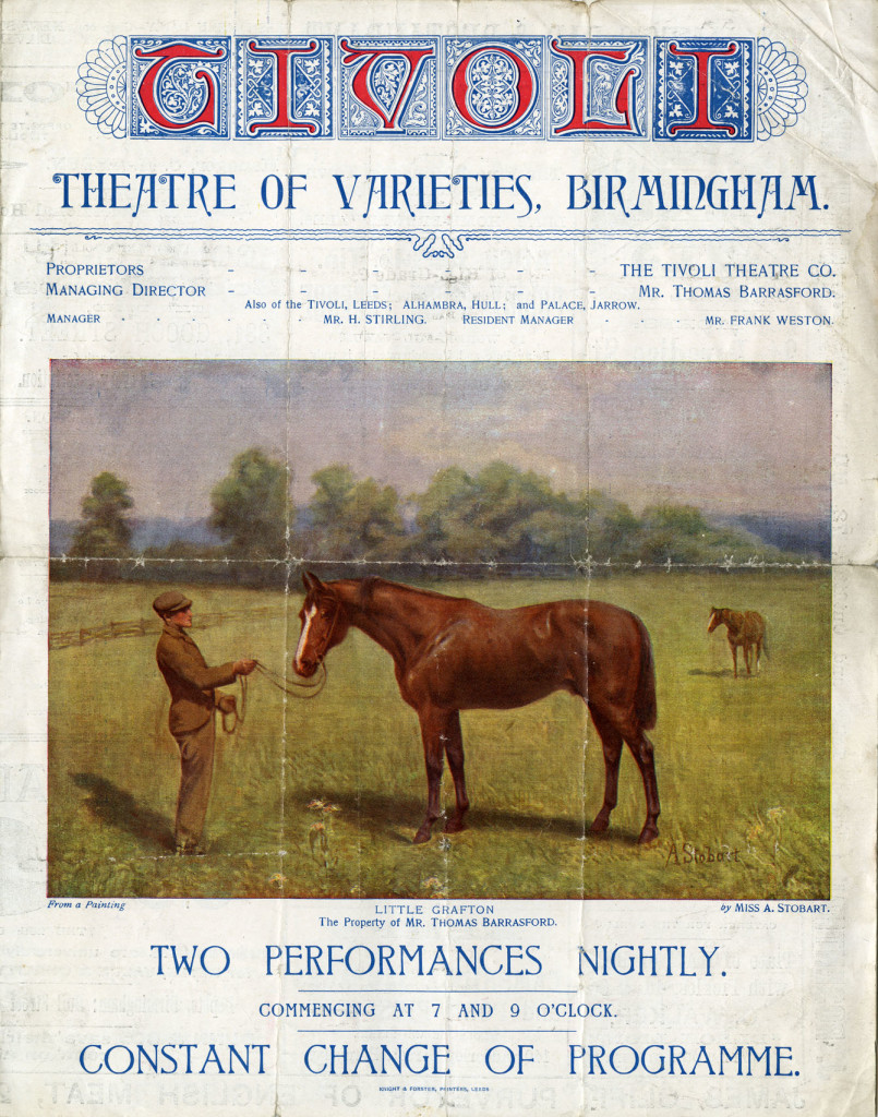 Programme for the week of Monday 20 August 1900