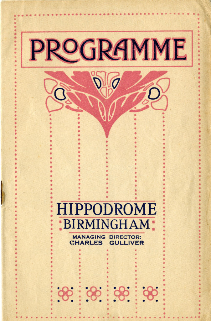 Programme for the week of Monday 09 August 1926