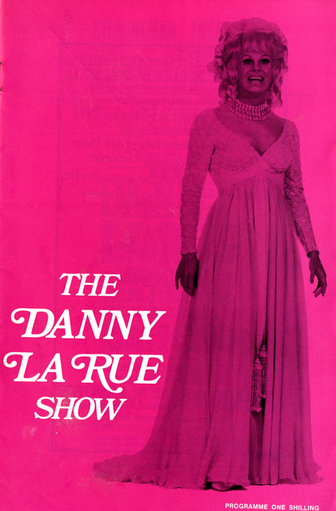 Programme for The Danny La Rue Show, March 1970