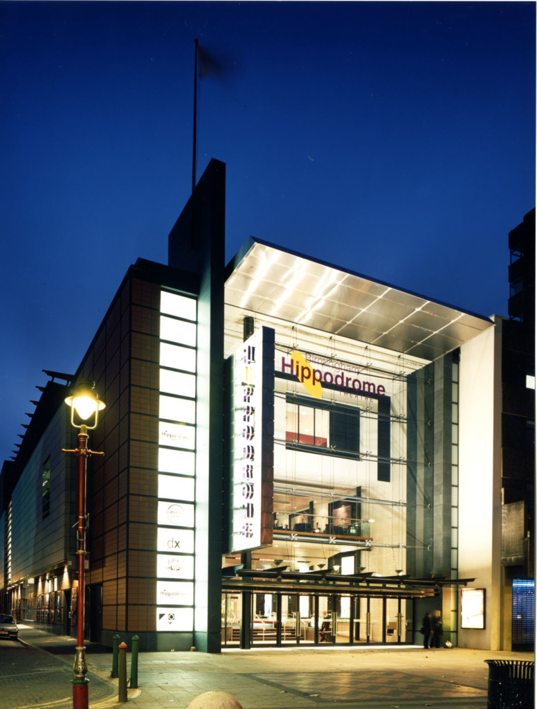 A view of Birmingham Hippodrome 2002