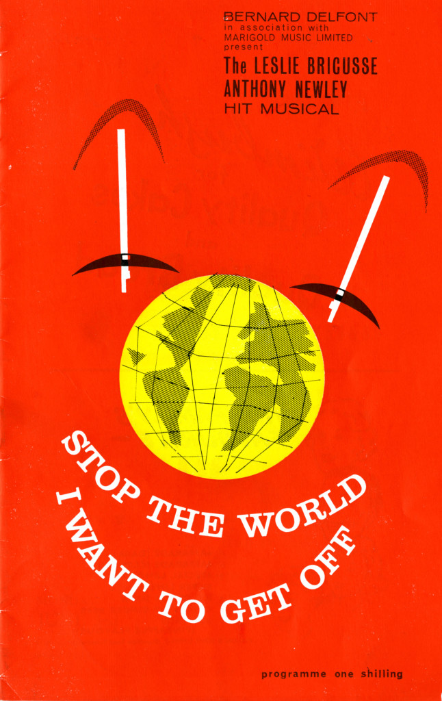 Programme for 'Stop the world I want to get off' June 1963