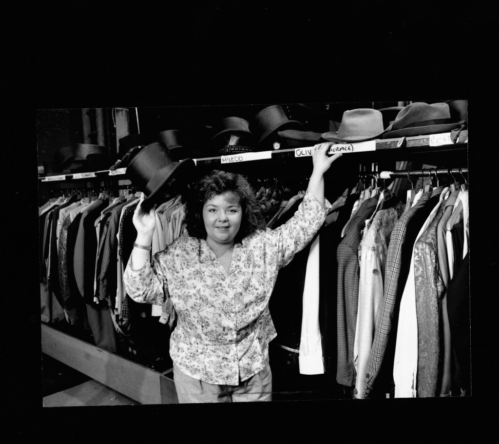 Trish McAuley Wardrobe Mistress, May 1990
