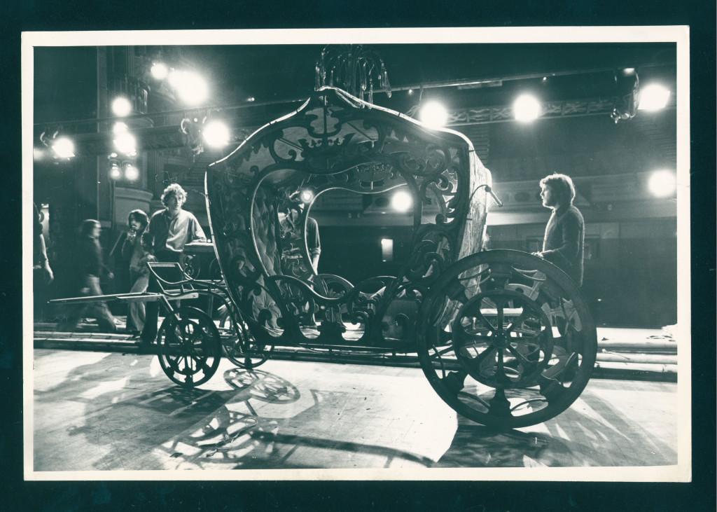 Installing Cinderella, December 1977