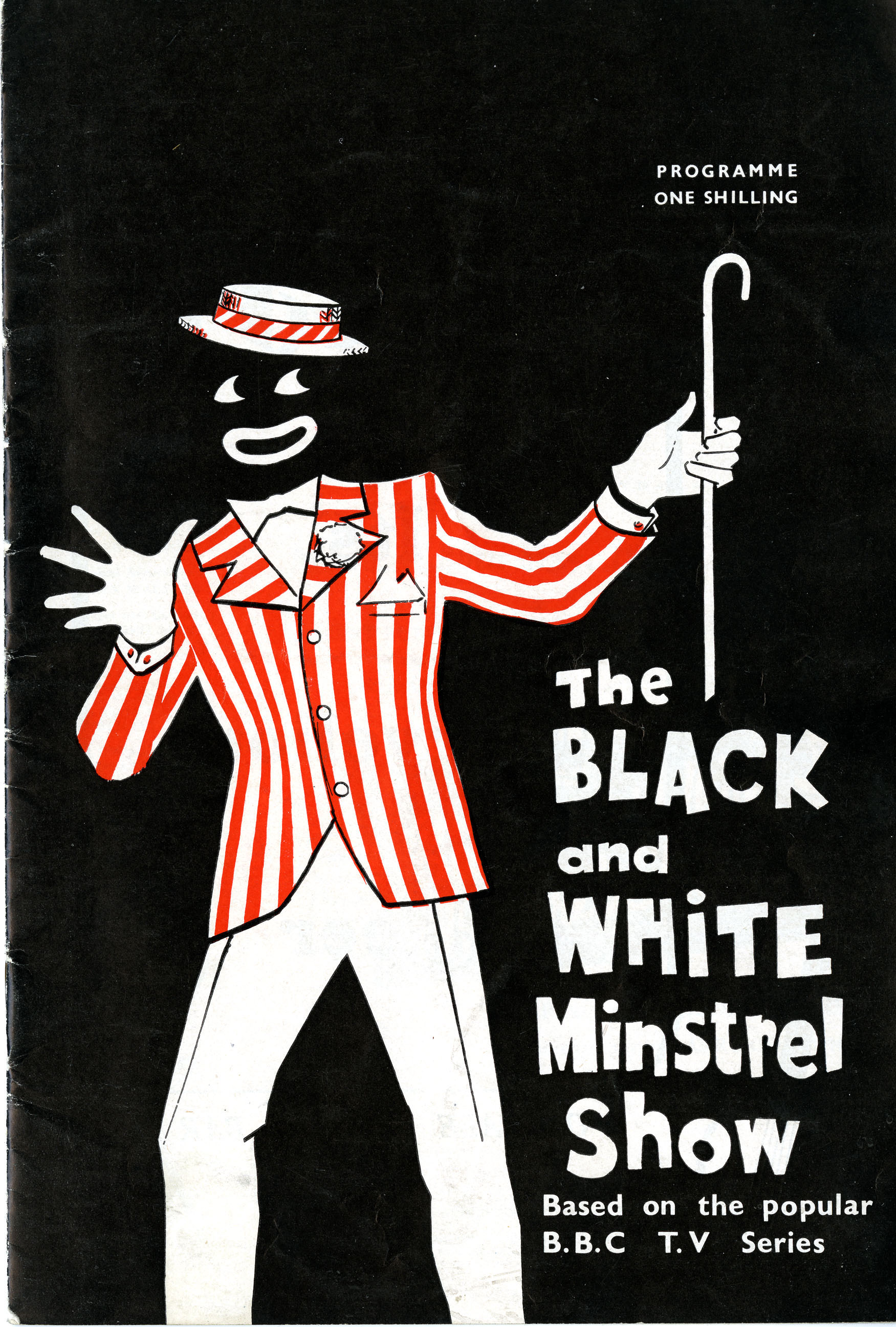 Programme the black and white minstrel show birmingham hippodrome