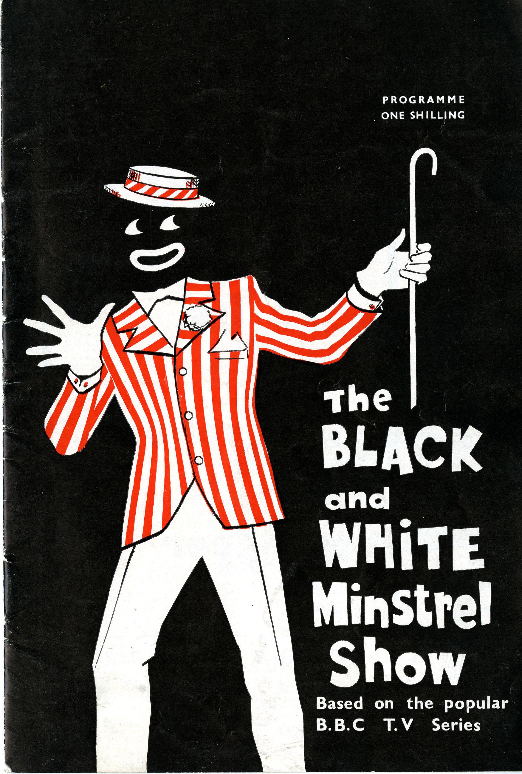 Programme the black and white minstrel show birmingham hippodrome hippodrome heritage